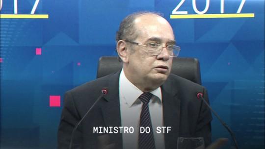 Central GloboNews entrevista o ministro do STF Gilmar Mendes