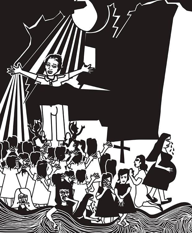 João de Deus (Foto: Ilustração Silvana Martins)