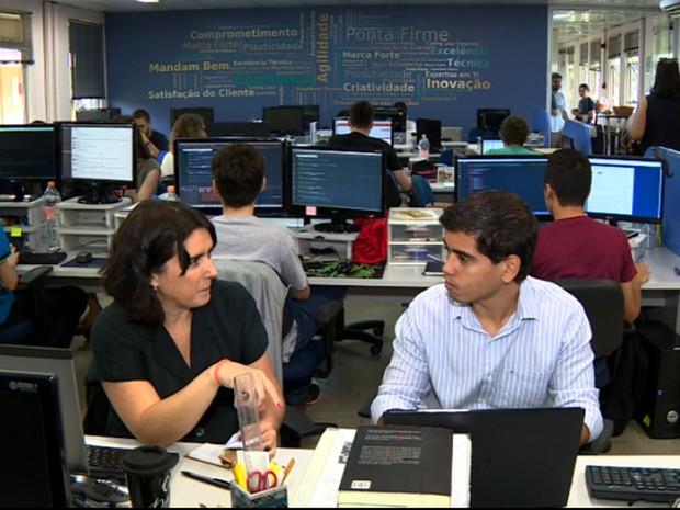 Luis Fernando Lima mudou de área, mas seguiu na mesma empresa (Foto: Reprodução EPTV)