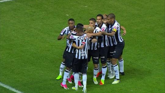Galo se segura com um a menos, vence o Botafogo e leva vantagem para o Rio