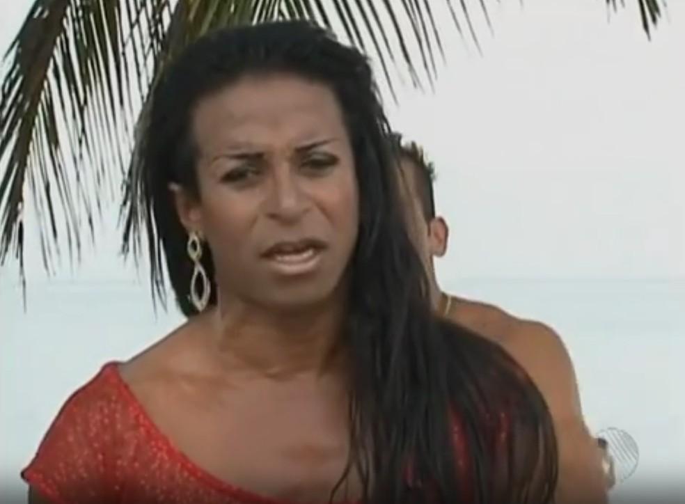 Dançarino Daniel José de Oliveira Junior, conhecido como Lady Butterfly (Foto: Reprodução/TV Bahia)