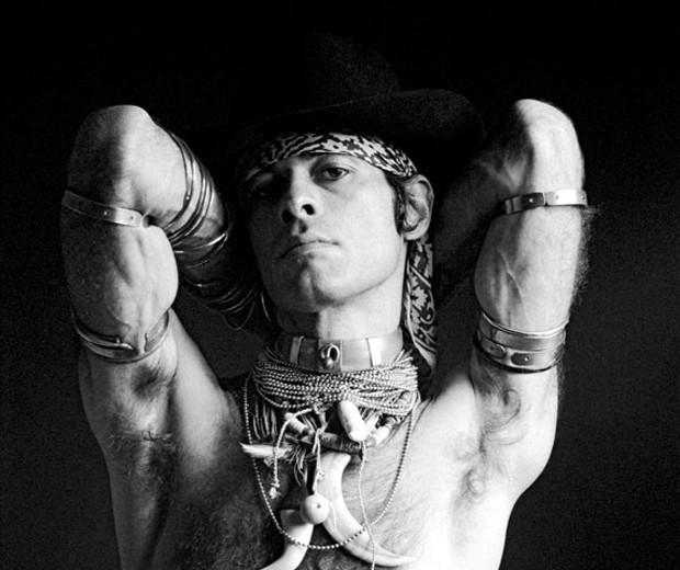 Ney Matogrosso em 1976 (Foto: Divulgação/ Bob Wolferson)