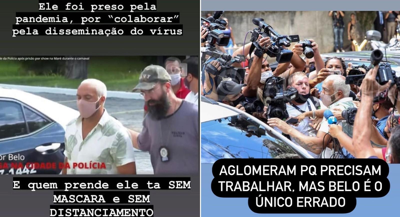 Gracyanne Barbosa critica prisão de Belo (Foto: Reprodução/Instagram)