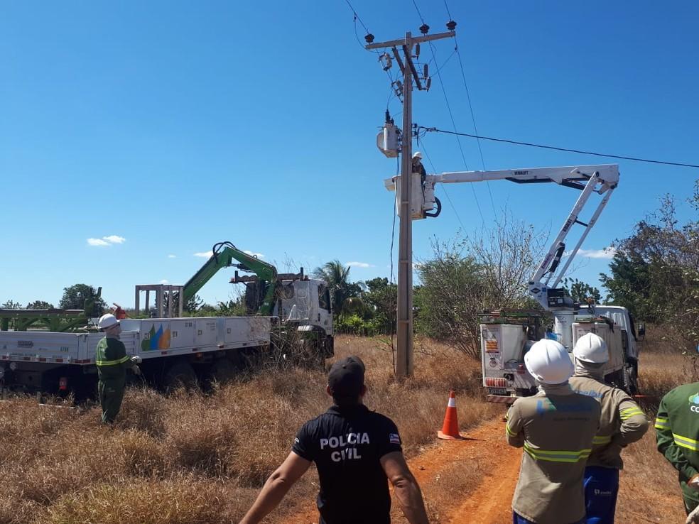 A Coelba recuperou nos seis primeiros meses do ano, 157 milhões de kWh, maior volume já registrado para o período. — Foto: Coelba