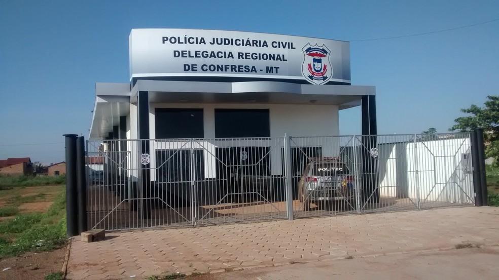 Caso em Confresa vai ser investigado pela Polícia Civil — Foto: Polícia Civil/Divulgação