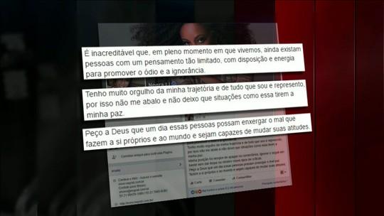 Hackers publicam mensagens racistas em site da cantora e atriz Negra Li