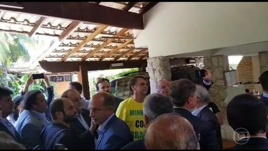 Bolsonaro recebe deputados e propõe prontuário eletrônico no SUS