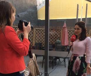Sabrina Petraglia em Portugal | Arquivo pessoal