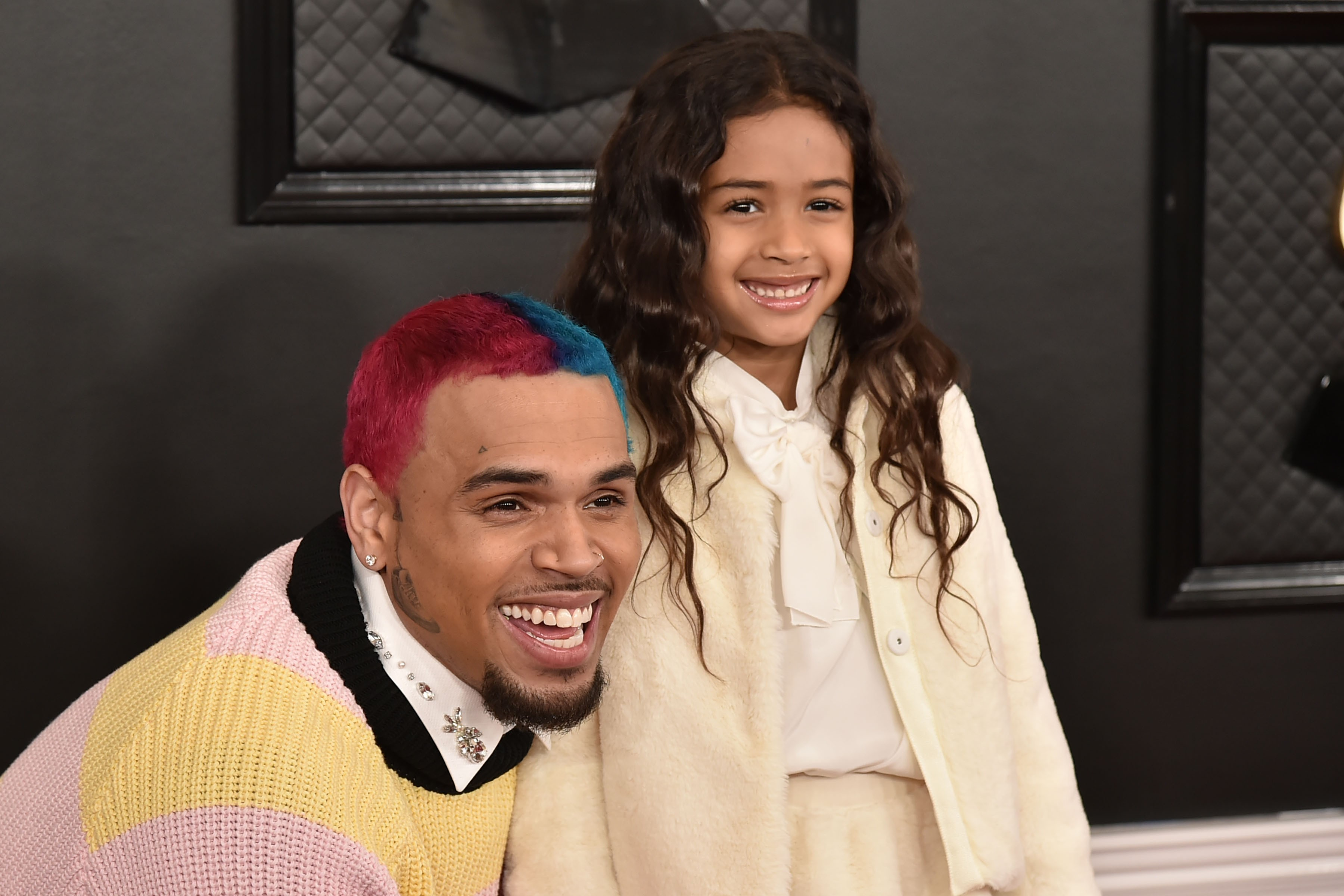 Chris Brown e Royalty Brown (Foto: Getty Images)