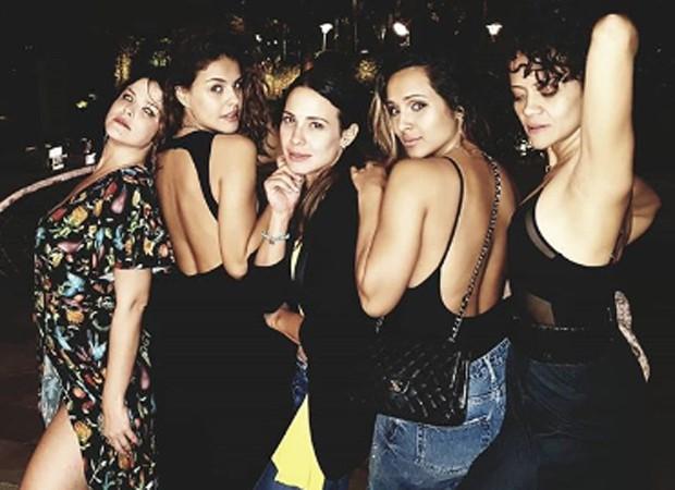 Samara Felippo, Paloma Bernardi, Juliana Knust, Thaíssa Carvalho e Aline Borges (Foto: Reprodução/Instagram)