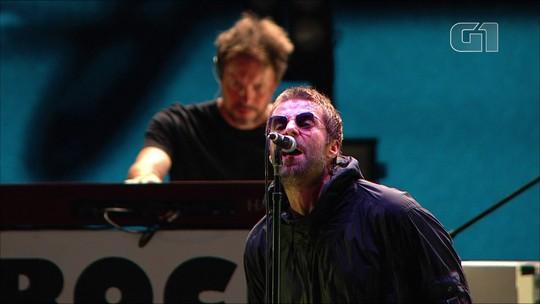 Liam Gallagher mostra no Lollapalooza o maior Oasis que você respeita em show tipo meu malvado favorito