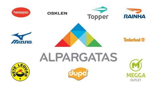 Destaque da empresa Alpargatas