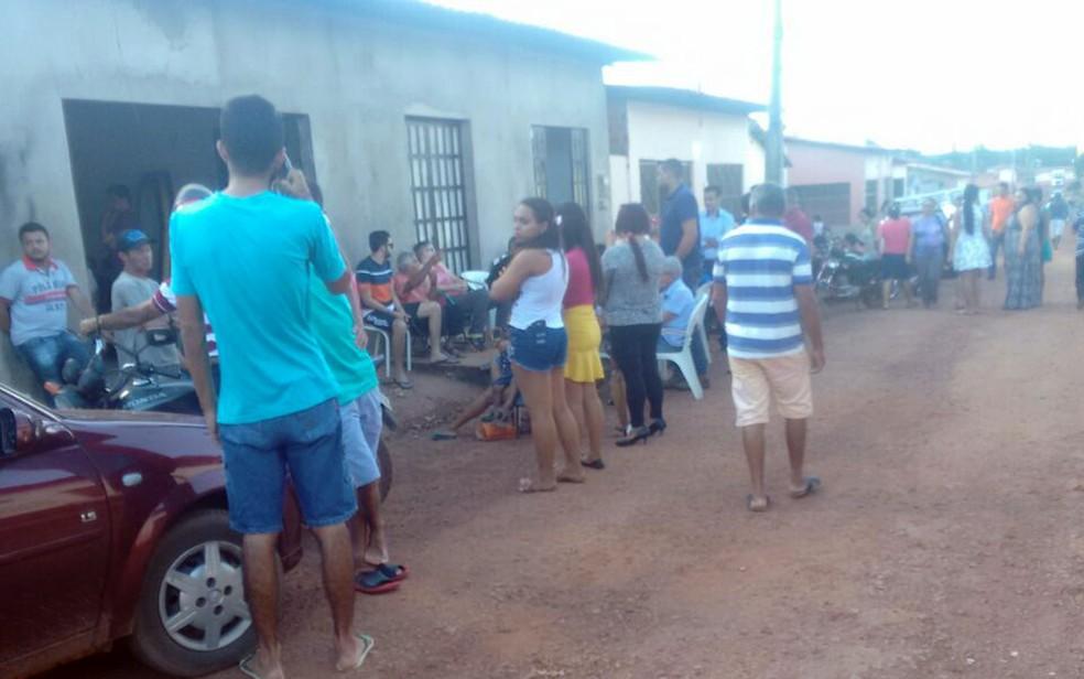 Corpo foi velado na casa de  (Foto: Mário Sérgio / Divulgação)