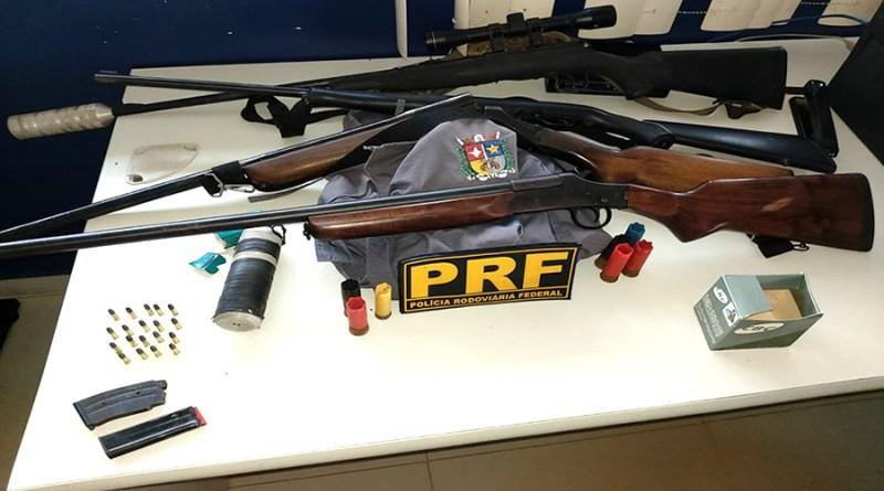 Polícia apreende 4 rifles em casa de suspeito de agredir a mulher na Zona Rural de Macapá