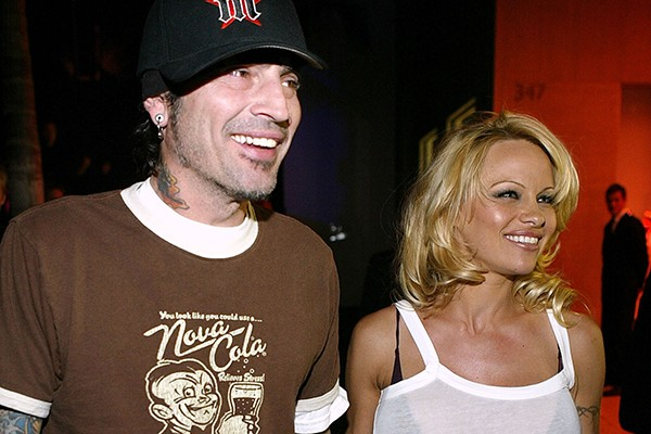 Tommy Lee e Pamela Anderson (Foto: Getty Images)