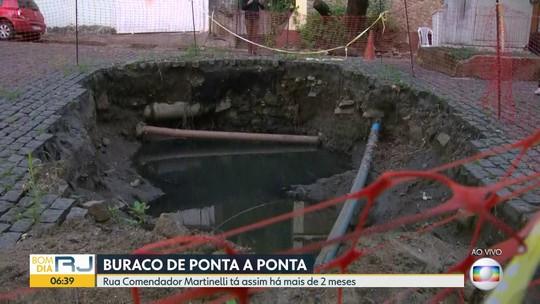 Moradores do Grajaú reclamam de buracos