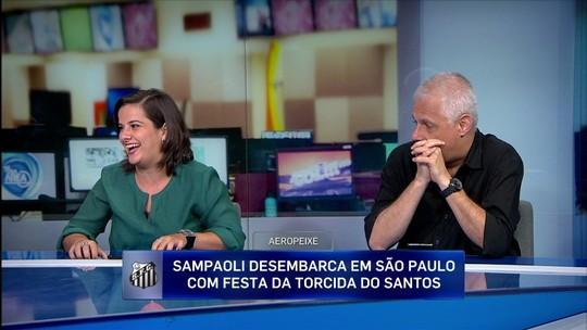"""Jornalista avalia chegada de Sampaoli ao Santos: """"Acho muito arriscada essa contratação"""""""