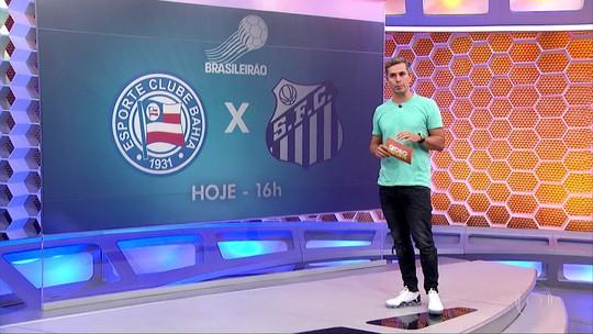 GESP: Peixe enfrenta o Bahia com o retorno de Bruno Henrique
