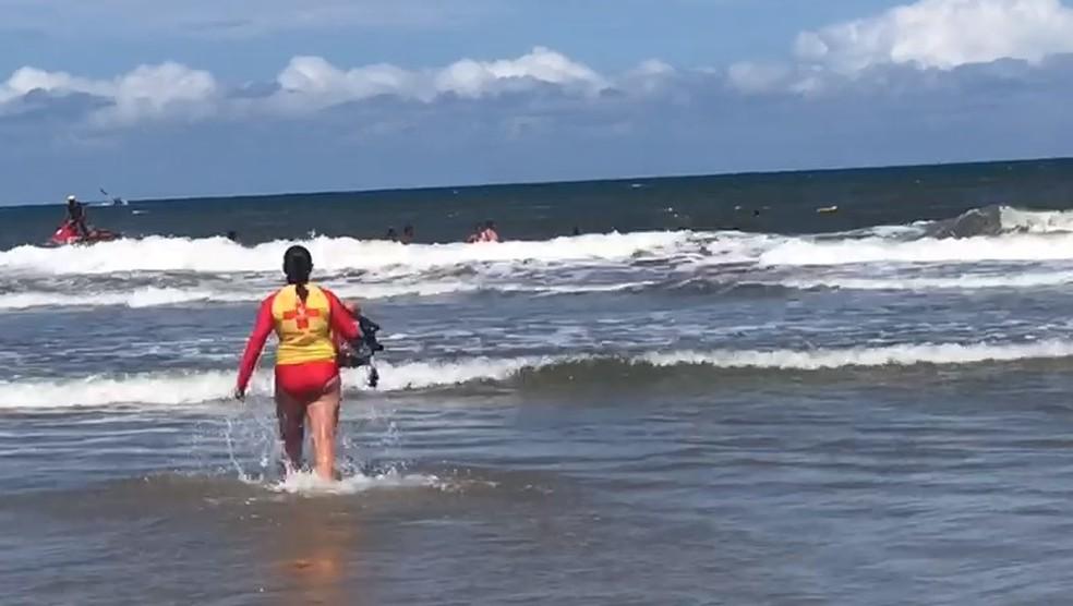 Adolescentes desaparecem no litoral do Paraná — Foto: Diogo Caleffi/Arquivo pessoal