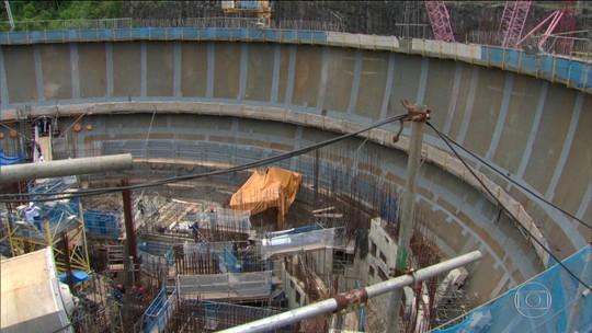 Prisões são resultado da investigação sobre obra na usina de Angra 3