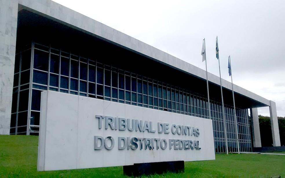 Fachada do Tribunal de Contas do Distrito Federal — Foto: Lucas Nanini/G1