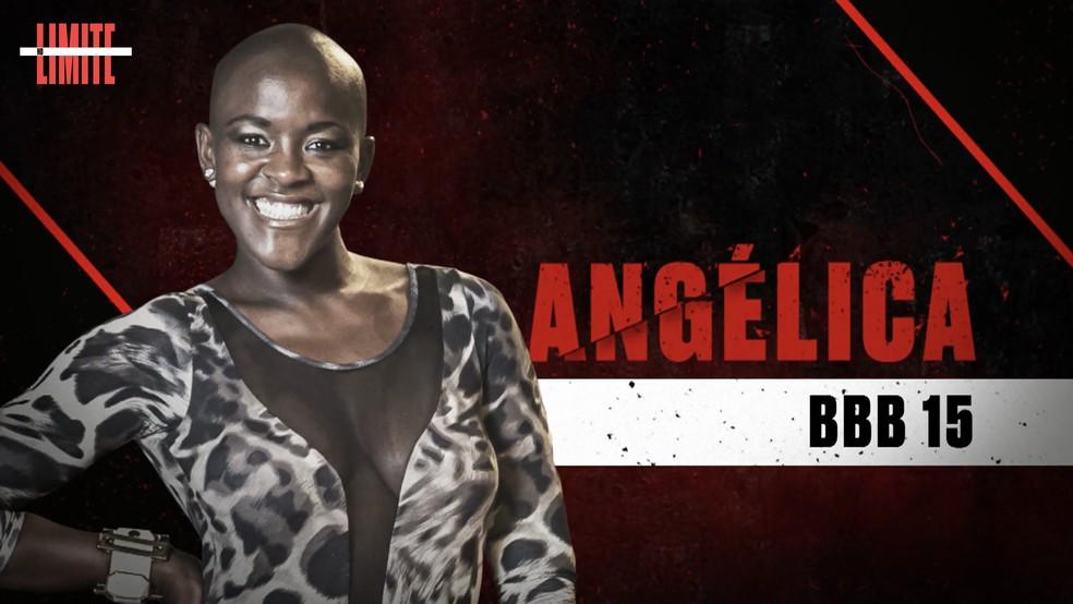 Angélica é uma das participantes do 'No Limite' ? Foto: Globo