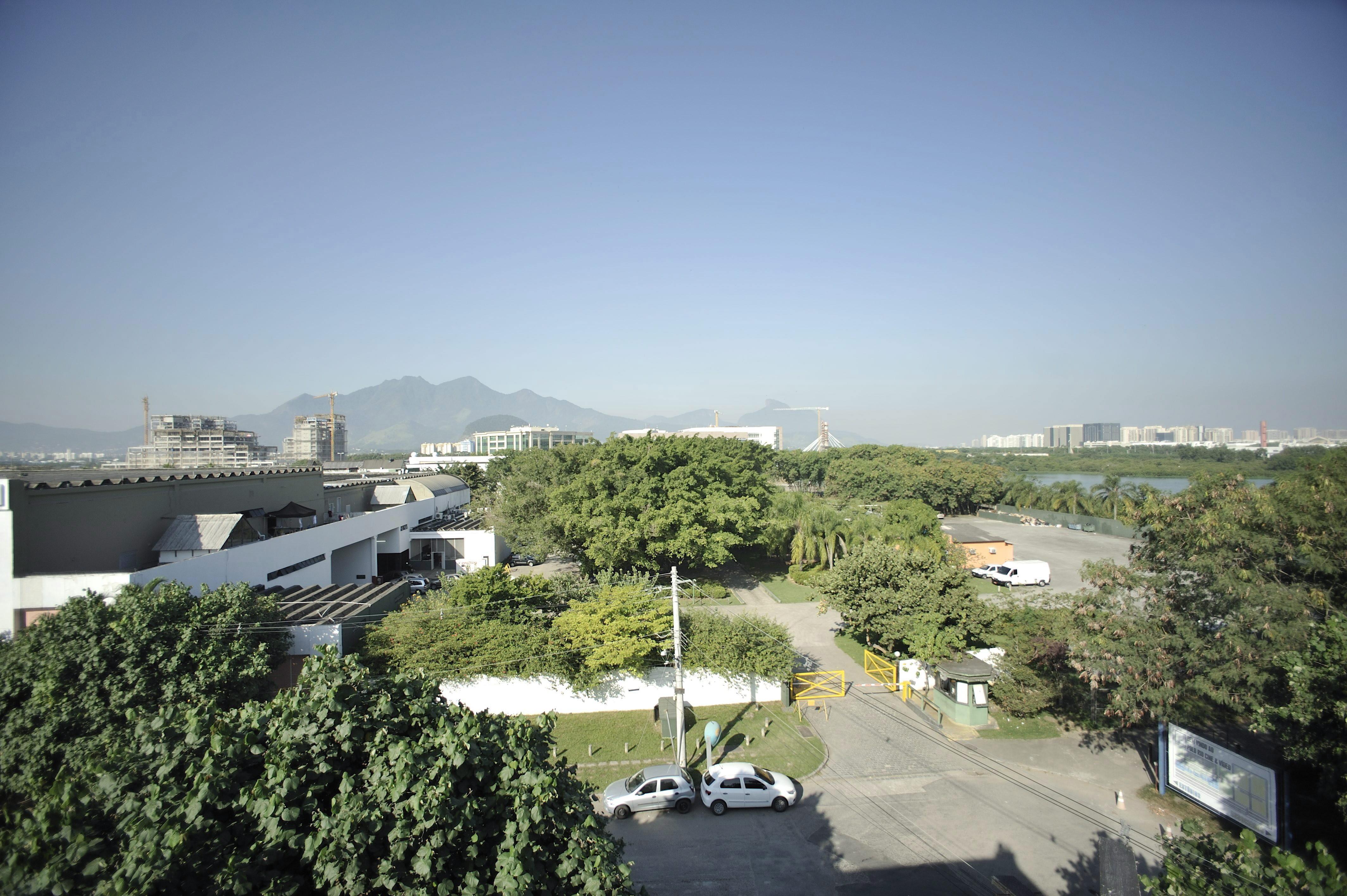O terreno onde fica o Polo Cine Vídeo: são 60 mil metros quadrados