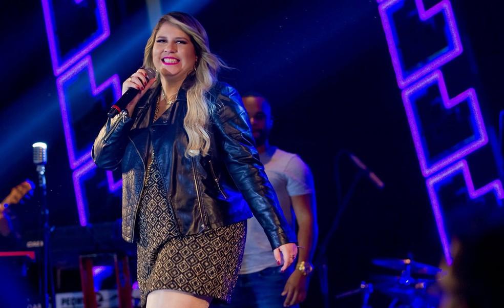 Noite de sábado terá apresentação da cantora Marília Mendonça (Foto: Divulgação)