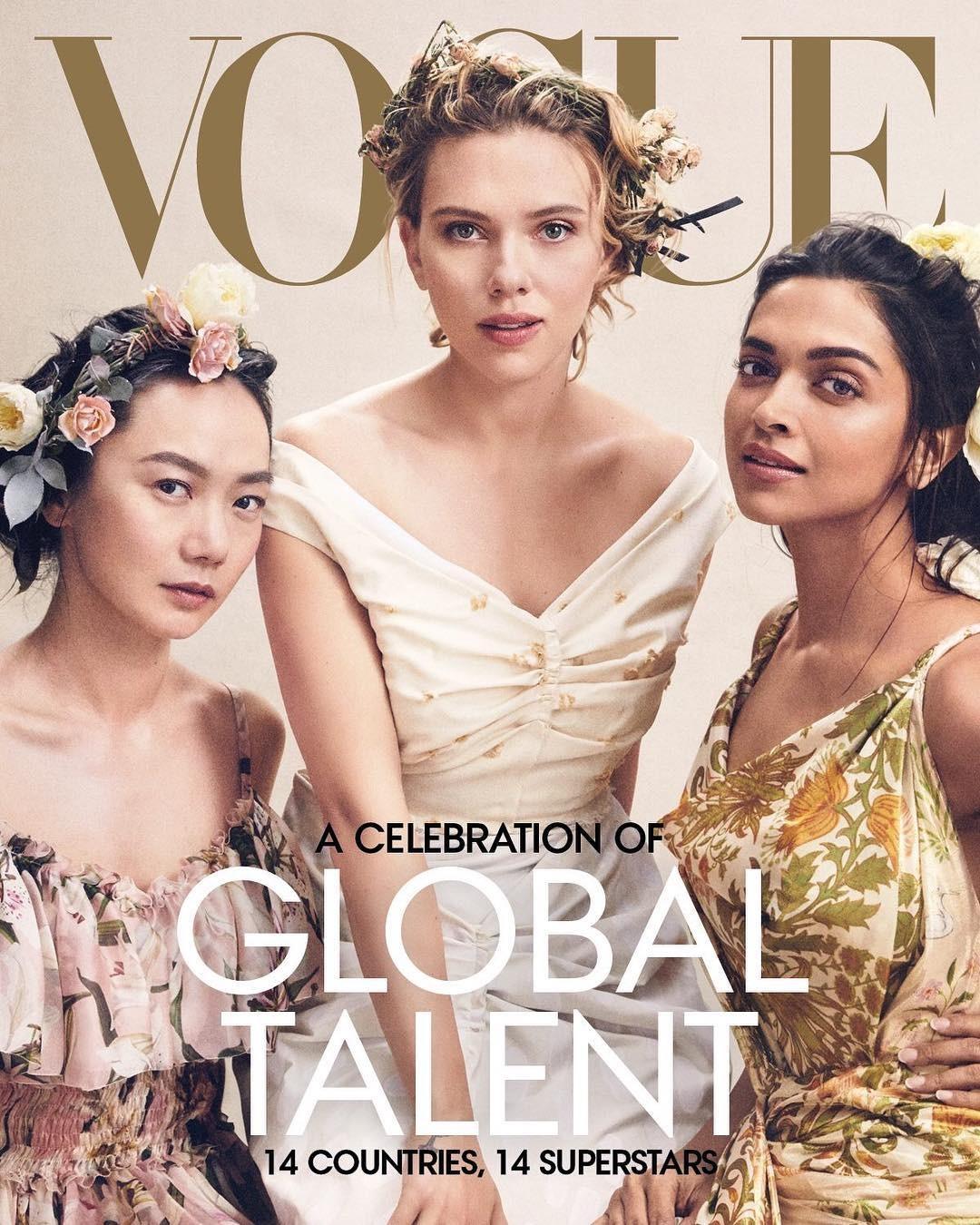 Capa de abril da Vogue americana (Foto: Reprodução)