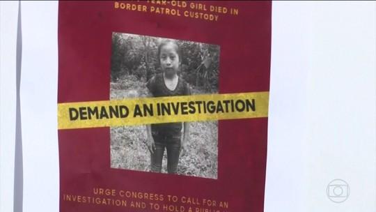Imigrante contesta versão do governo dos EUA para morte da filha de 7 anos