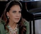 Na segunda (8), na festa de inauguração da Televendão, Mercedes (Totia Meireles) e os convidados ficarão surpresos ao descobrirem que Jerônimo (Jesuíta) é o empresário misterioso, novo dono da emissora | TV Globo