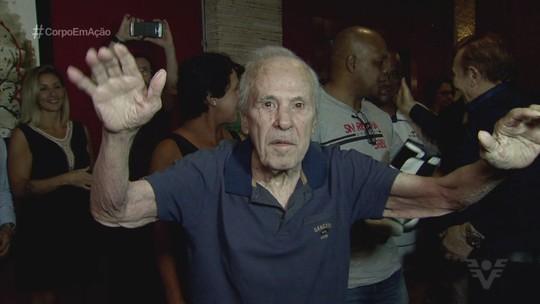 Éder Jofre celebra aniversário de 83 anos na Baixada Santista