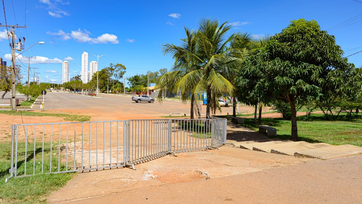 Prefeitura fecha acesso a praias de Palmas durante o fim de semana para evitar aglomerações