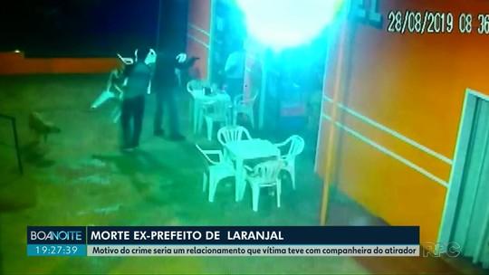 Morte de ex-prefeito de Laranjal pode ter motivação passional, diz delegado