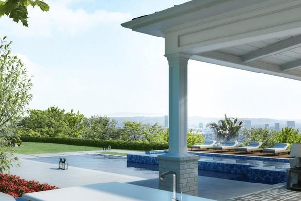 Gwen Stefani e Blake Shelton incluem mansão de R $ 77 milhões em Los Angeles (Foto: Gaskin Designs / Reprodução)