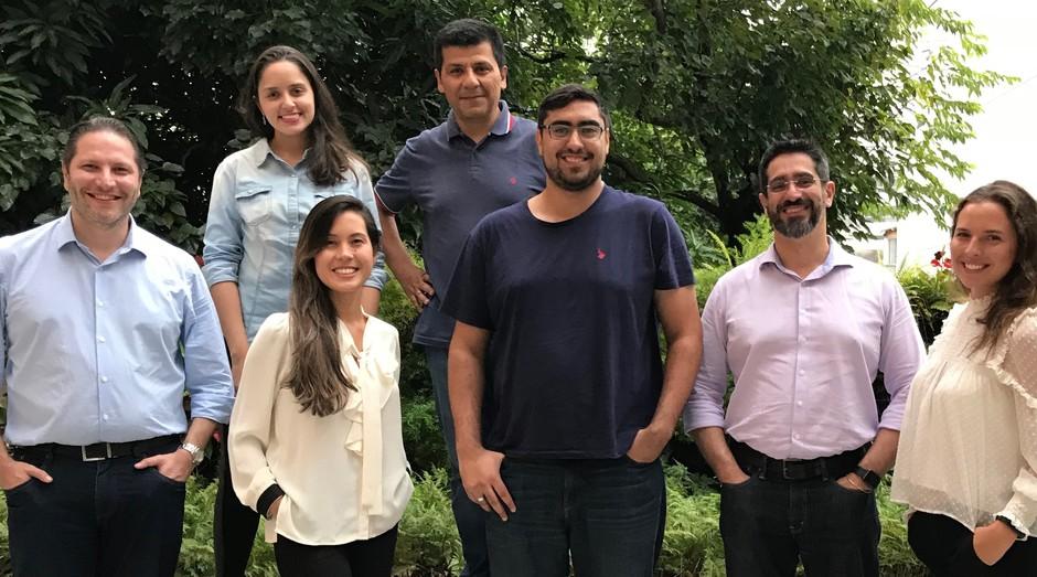 Equipe da HealthCentriX, empresa que utiliza inteligência artificial para melhorar atendimentos médicos (Foto: Divulgação)