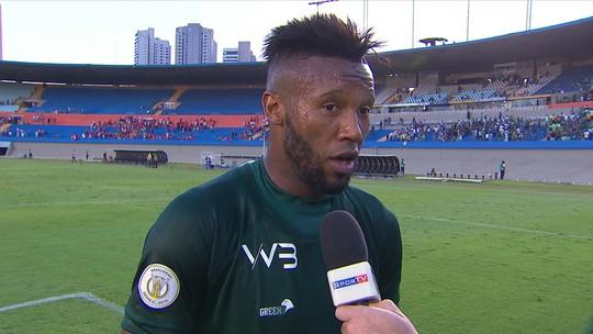 """Com gol no último minuto, Rafael Vaz vive redenção e comemora: """"A gente tinha que vencer"""""""
