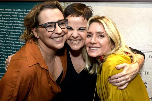 Ana Beatriz Nogueira, Leila Pinheiro e Leticia Spiller (Foto: Cristina Granato)