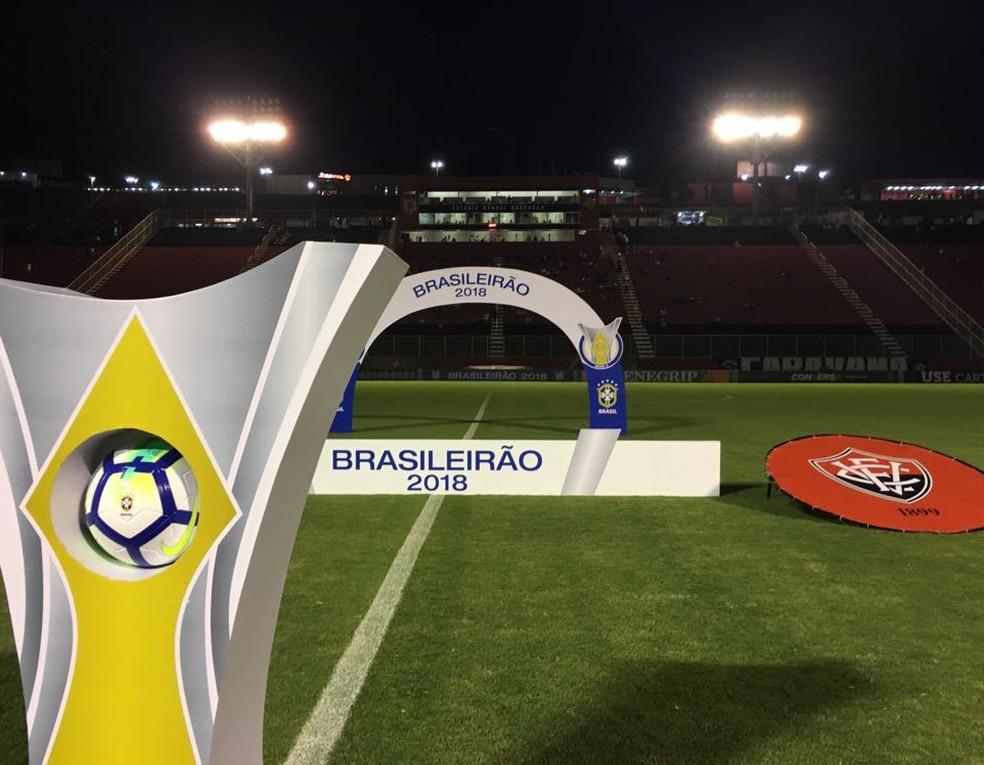 e2b7a7d096987 ... Barradão vai receber partida entre Vitória e Fluminense neste domingo —  Foto  Eduardo Oliveira