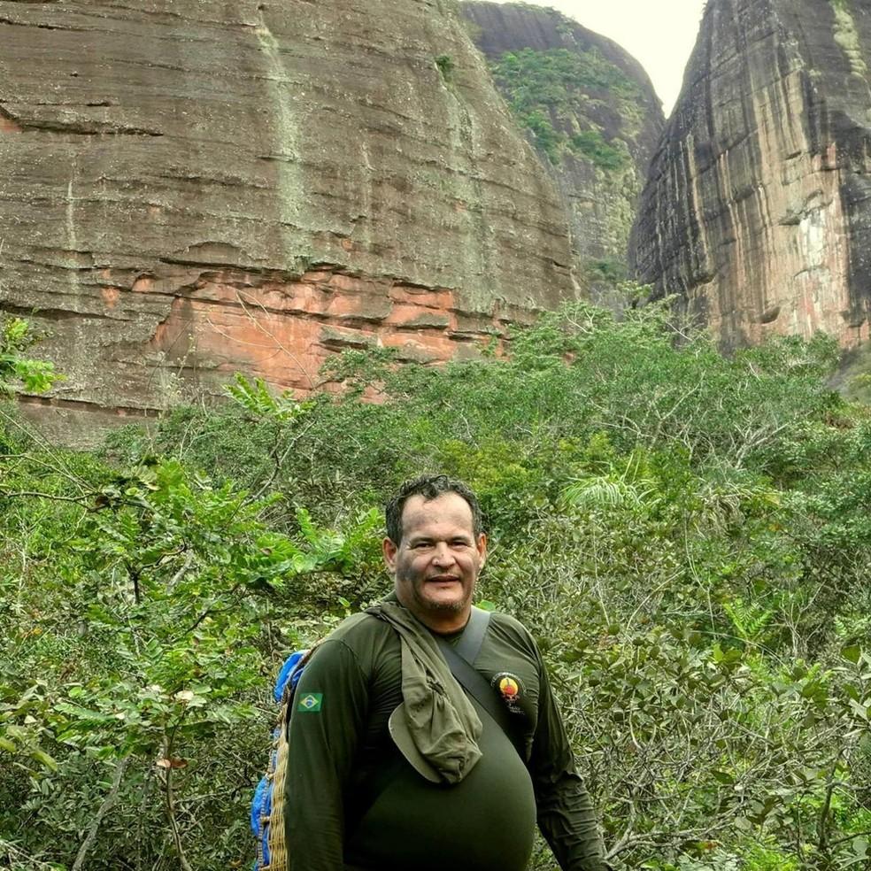 Rieli Franciscato foi morto após ser atingido por flechada em Seringueiras.  — Foto: Arquivo pessoal