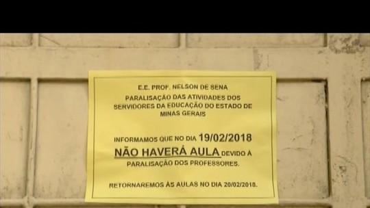 Alunos da rede municipal voltam às aulas em Governador Valadares, mas rede estadual faz paralisação
