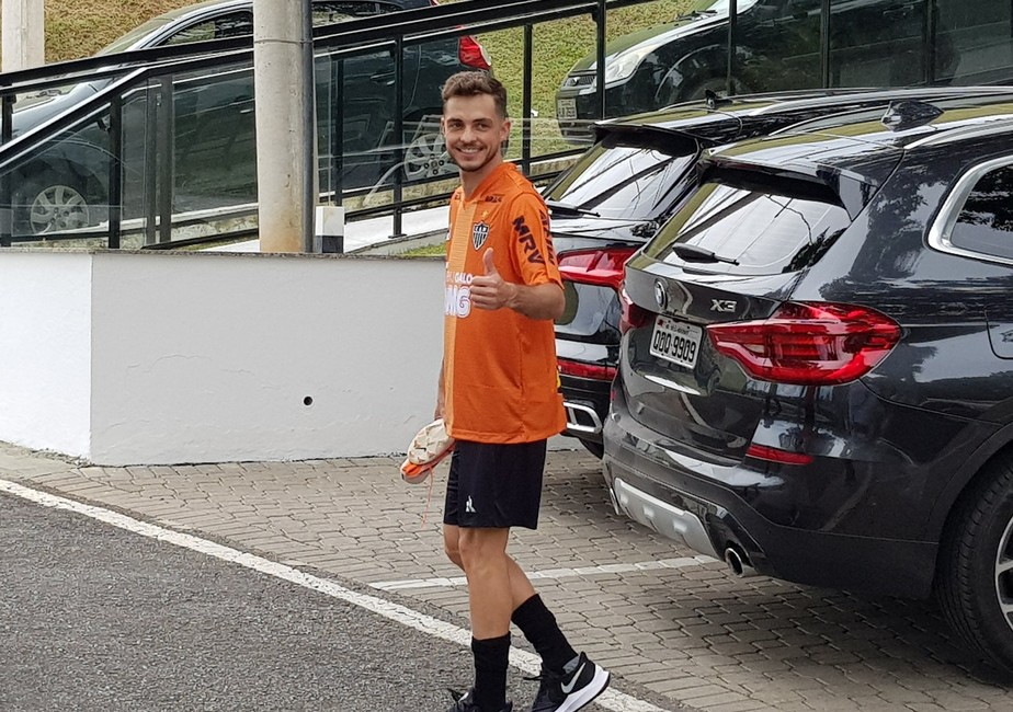 Atlético-MG fecha a contratação do meia Hyoran, do Palmeiras, por empréstimo até o fim do ano