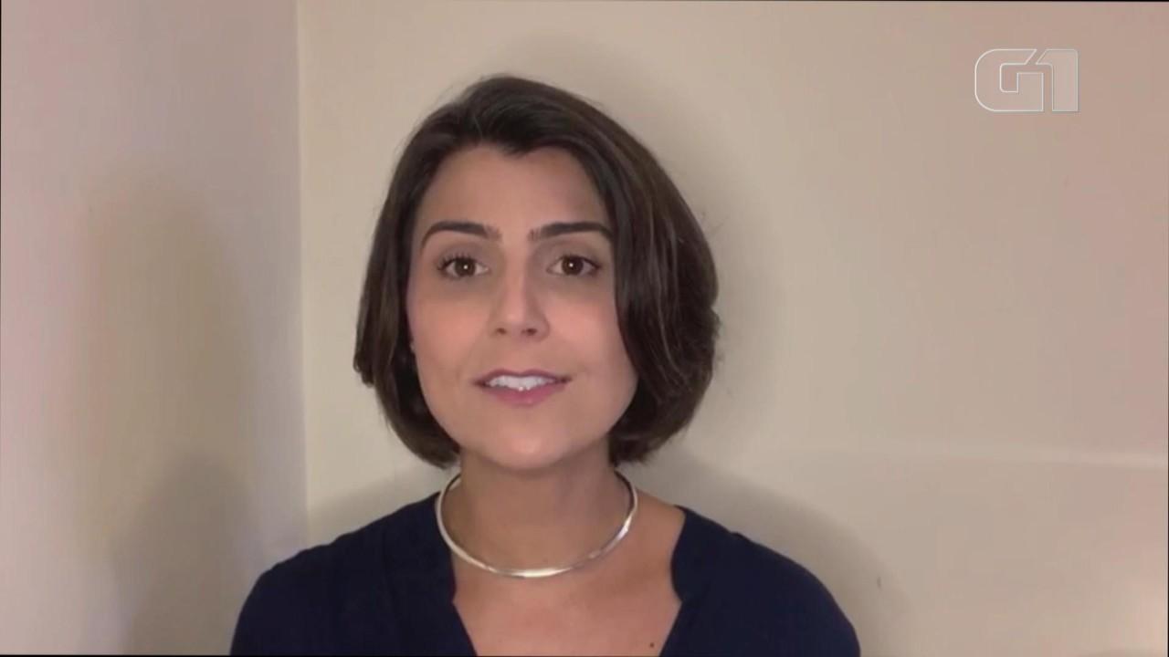 Manuela D´Ávila (PCdoB) responde a pergunta sobre educação em Porto Alegre