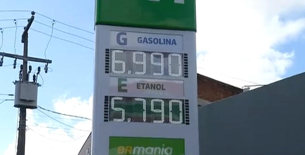 Preço tem novo aumento em Natal — Foto: Inter TV Cabugi