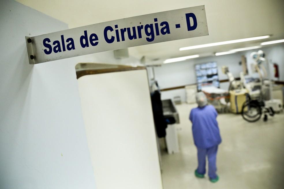 Cirurgias eletivas serão retomadas no RN — Foto: Breno Esaki/Agência Saúde