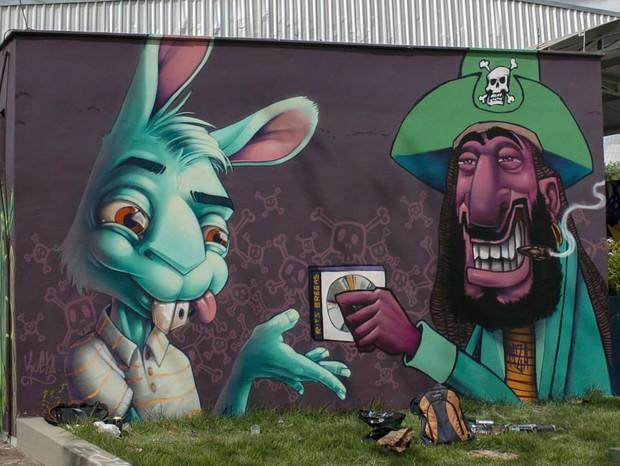 Graffiti (Foto: reprodução/ Instagram)