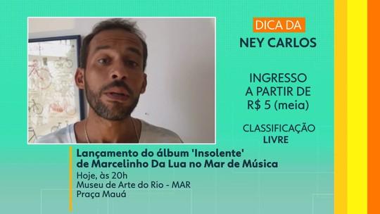 Dica do telespectador: Marcelinho Da Lua lança o álbum 'Insolente' no MAR