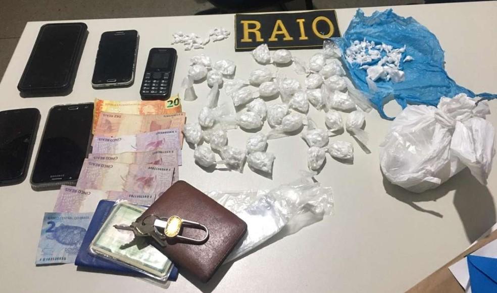 Todo o material apreendido foi levado para a Delegacia Regional de Quixeramobim, no Ceará — Foto: Divulgação/Polícia Civil