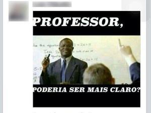 Alunos de direito da PUC-Campinas denunciam racismo no Facebook (Foto: Reprodução/ Facebook)