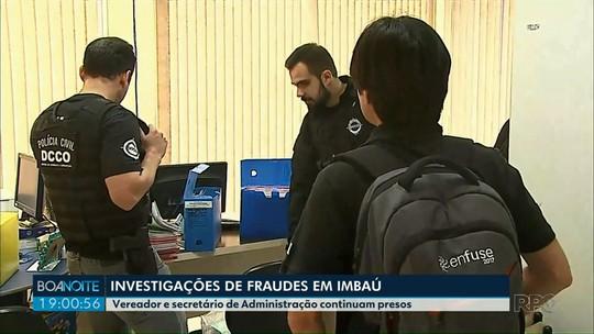 Presos em operação que investiga corrupção em Imbaú prestam depoimento